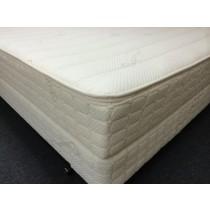 Quadraflex pocket coil latex mattress